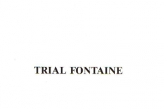 TRIAL+FONTAINE