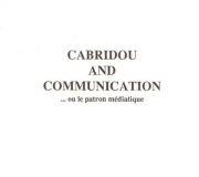 CABRIDOU+AND+COMMUNICATION